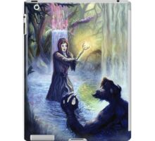 If you go out in the woods today.. iPad Case/Skin