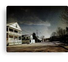 Sullivan County Ghosttown Canvas Print