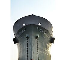 Anchored Vessel Photographic Print