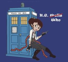 H. G. Who - pastel Tardis by thygesen