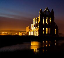 Whitby Abbey by Ken  Yan