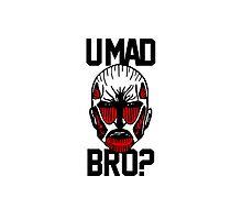 U Mad Bro Titan? by coffeewatson