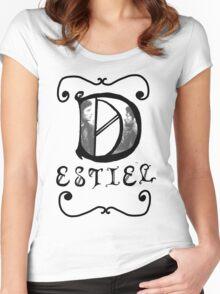 Destiel  Women's Fitted Scoop T-Shirt