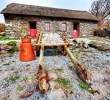 Dingle Famine Cottage by Stephen Smith