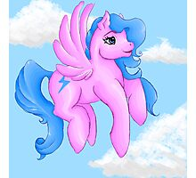 My Little Ponies Firefly Photographic Print