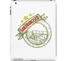 San Francisco, california badge hand draw iPad Case/Skin