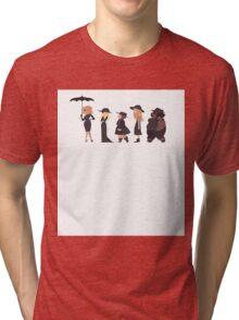 1,2,3 - Girls Tri-blend T-Shirt