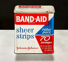 Band-Aid Tin by YoPedro