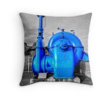 Centrifugal Water Pump Throw Pillow