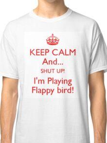 Flappy Bird White Classic T-Shirt