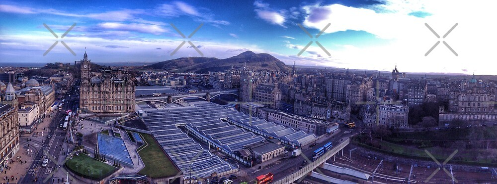 Edinburgh Skyline by Siegeworks .