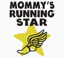 Mommy's Running Star Kids Tee