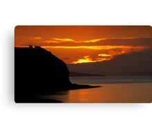 Severn Sunset Canvas Print