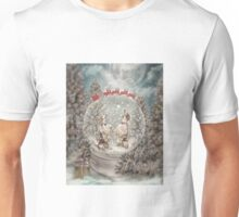 Welshies in a snow globe Unisex T-Shirt
