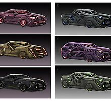Concept cars by Sunil Kainth