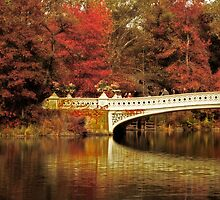 Fall at Bow Bridge by Jessica Jenney
