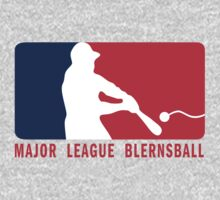 Major League Blernsball (MLB / Futurama parody) One Piece - Long Sleeve