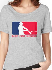 Major League Blernsball (MLB / Futurama parody) Women's Relaxed Fit T-Shirt