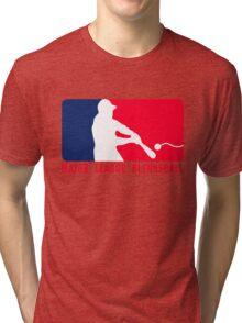 Major League Blernsball (MLB / Futurama parody) Tri-blend T-Shirt