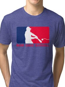 Major League Blernsball (MLB / Futurama parody) Tri-blend T-Shirt