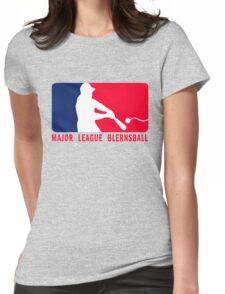 Major League Blernsball (MLB / Futurama parody) Womens Fitted T-Shirt