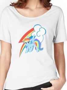 MLP rainbow dash Women's Relaxed Fit T-Shirt