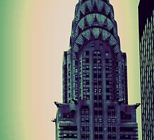 Chrysler Building - Angular Crop by Amanda Vontobel Photography/Random Fandom Stuff