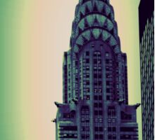 Chrysler Building - Angular Crop Sticker