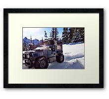 Roll out. Framed Print