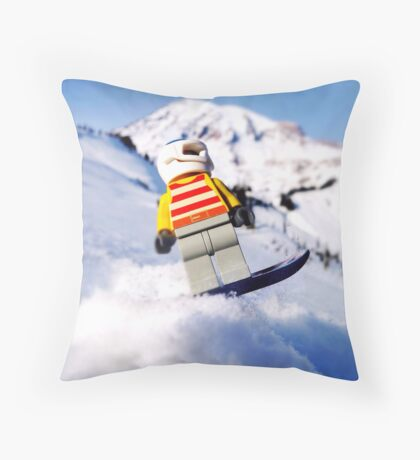 Final run Throw Pillow
