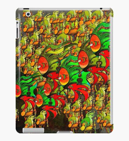 In The Tank - Divaswinicus and a Group of Passing Divaskimmers iPad Case/Skin