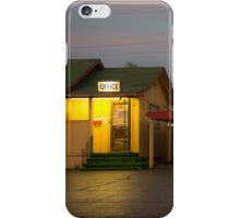 Lincoln Motel Reception  iPhone Case/Skin