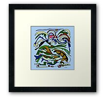 The sign of the Fish Framed Print