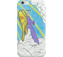 Resting Angel iPhone Case/Skin