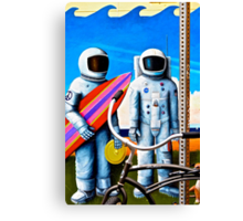 Land, Sea & Sky Canvas Print
