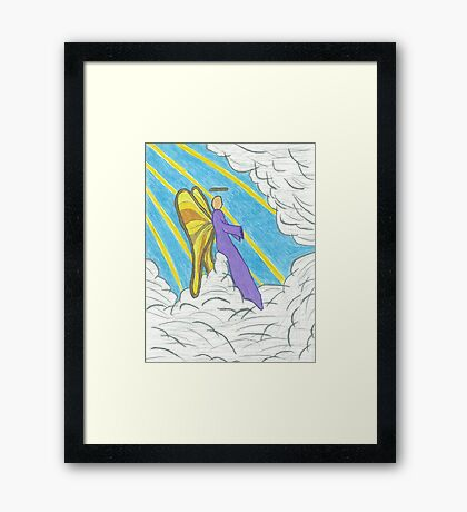 Resting Angel Framed Print