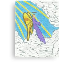 Resting Angel Canvas Print