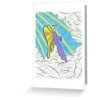 Resting Angel Greeting Card