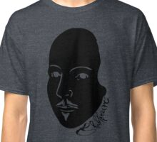 Inverted Black & White Shakespeare Classic T-Shirt