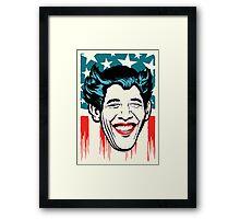 Yes, We Joke Framed Print