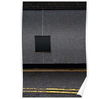 Newlyn Road Texture Poster