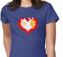 ValenTIME! Womens Fitted T-Shirt