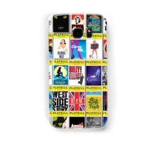 Broadway Playbill Palooza Samsung Galaxy Case/Skin