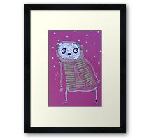 Jan 14 Number 17 Framed Print