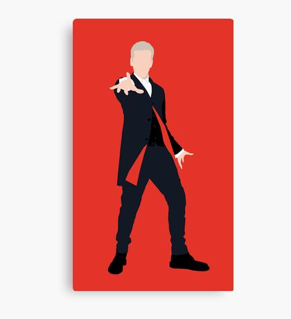 12th Doctor Peter Capaldi Canvas Print
