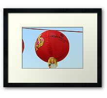 Chinese New Year 2014 Framed Print