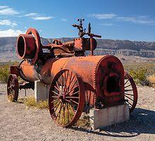Steam Engine Irrigation Pump by Robert Kelch, M.D.