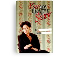 Irene Adler Valentine's Day Card - The New Sexy Canvas Print