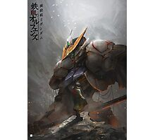 Barbatos Gundam - Mikazuki Augus From Iron Blooded Orphan Photographic Print