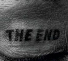 """The end"" Eyelid Sticker"